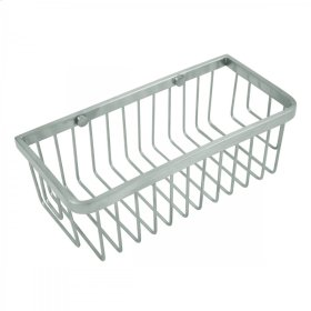 Satin Nickel - Square Wire Basket