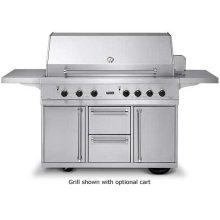 "53"" Ultra-Premium T-Series Grill - VGBQ (53"" wide with four standard 25,000 BTU stainless steel burners (LP/Propane))"