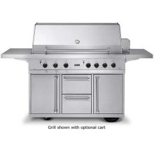 "53"" Ultra-Premium T-Series Grill - VGBQ (53"" wide with four standard 25,000 BTU stainless steel burners (Natural Gas))"