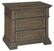 Turtle Creek Triple Drawer Night Stand Product Image