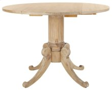 Forest Drop Leaf Dining Table - Rustic Natural