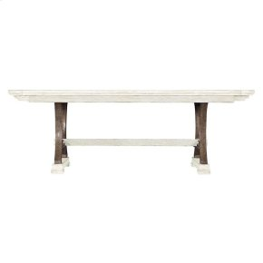 Coastal Living Resort Shelter Bay Table in Nautical White