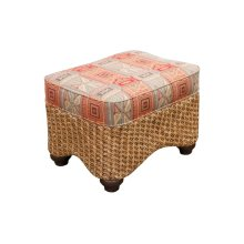 Ottoman, Available in Carmelo Finish Only.