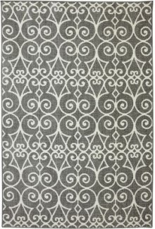 Fasney Ash Grey Rectangle 5ft 3in X 7ft 10in