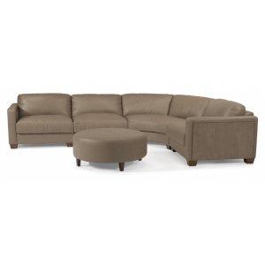 Wyman Leather Sectional