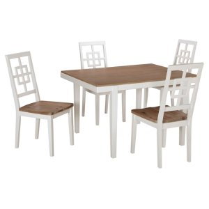 Ashley FurnitureSIGNATURE DESIGN BY ASHLEBrovada Dining Room Table and Chairs (set of 5)