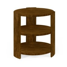 Three-Tier Round Side Table