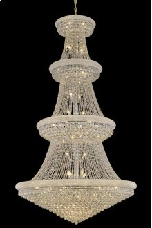 1800 Primo Collection Large Hanging Fixture Chrome Finish