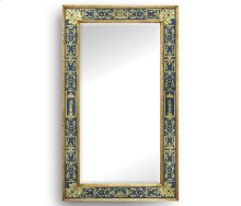 Blue glomise Mirror