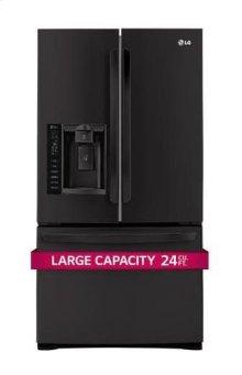 Ultra-Large Capacity 3 Door French Door Refrigerator with Smart Cooling