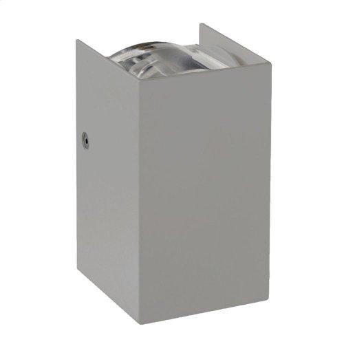 SCONCE,2X3W LED - Grey