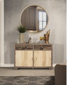 Round Mirror - Taupe Product Image