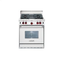"30"" Gas Range - 4 burners"