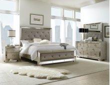 Farrah Queen Bedroom Group: Queen Bed, Nightstand, Dresser & Mirror