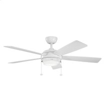 Starkk Collection 52 Inch Starkk Ceiling Fan WH