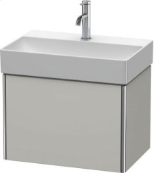Vanity Unit Wall-mounted Compact, Concrete Grey Matt Decor