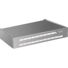 Undermount recirculation cover 24'' Stainless steel