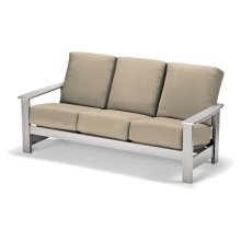 Leeward MGP Cushion Three-Seat Sofa