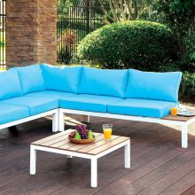 Winona Patio Sectional W/ Ottoman