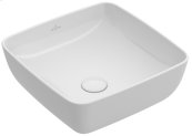 Surface-mounted Washbasin Angular - Powder