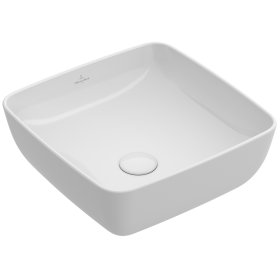 Surface-mounted Washbasin Angular - Fog