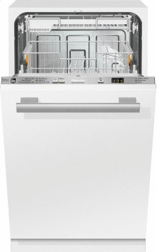 G 4760 SCVi AM Fully-integrated, Slimline dishwasher with hidden controls, cutlery tray, custom panel handle ready, ADA Compliant **** Floor Model Closeout Price ****