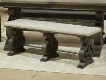 Bench w/Upholstered Seat
