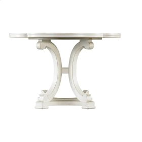 Coastal Living Resort Seascape Table in Nautical White
