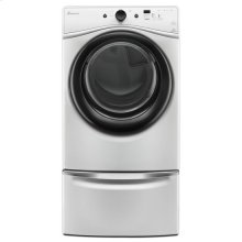 7.4 cu. ft. Electric Dryer with Efficiency Monitor - white