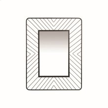 Geo Wire Rectangle Mirror