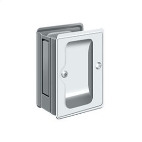 "HD Pocket Lock, Adjustable, 3 1/4""x 2 1/4"" Passage - Polished Chrome"
