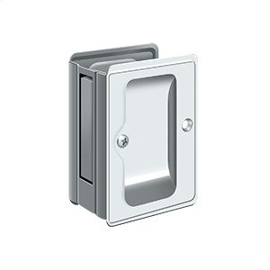 "HD Pocket Lock, Adjustable, 3 1/4""x 2 1/4"" Passage - Polished Chrome"