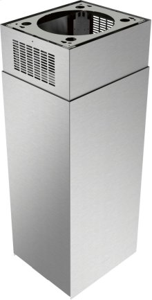 9-12-Foot Ceilings Chimney Extension Kit for Masterpiece® Island Hoods CHXTHMIB