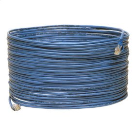 Cat5e Plenum Rated Snagless Patch Cable, (RJ45 M/M ) - Blue, 75-ft.