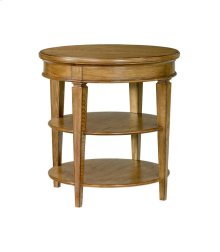 Round Lamp Table -KD