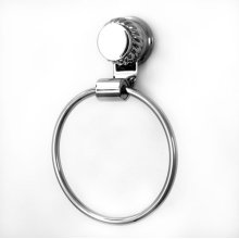 Series 06 Towel Ring shown with Rope Decorative Ring