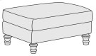 Tarleton Ottoman in Brandy (703) Product Image
