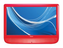 "Designer F-Series 22"" LCD HDTV in Red"