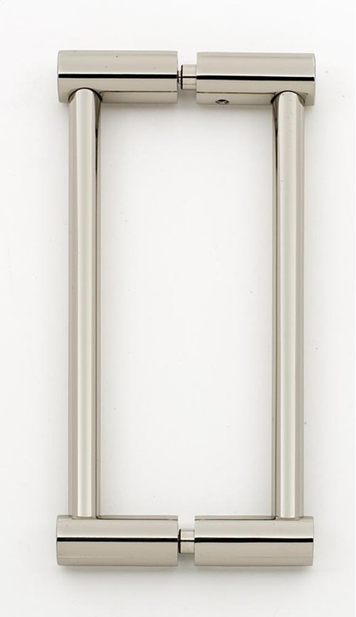 Contemporary I Back-to-Back Pull G715-6 - Polished Nickel