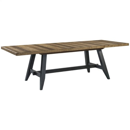 Dining - Urban Rustic Trestle Dining Table