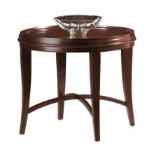 Metropolis Round Lamp Table