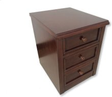 "Bella File Cabinet, Cherry, 18"" x22""x24"""
