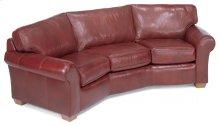 Vail Leather Conversation Sofa