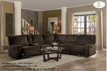 Left Side Chaise, Push Back Recliner