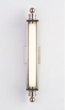 LED CHARTER SCONCE - BRUSHED NICKEL