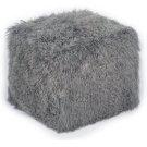 Tibetan Sheep Grey Pouf Product Image