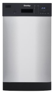 Danby 18 Stainless Built-In Dishwasher Product Image