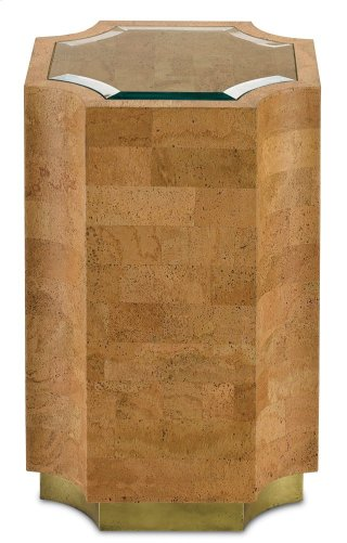 Renee Accent Table - 24.25h x 16w x 16d