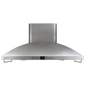 "Monogram 42"" High Performance Island Hood"