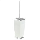 SPECIAL ORDER Floor standing brush holder in ceramic Product Image